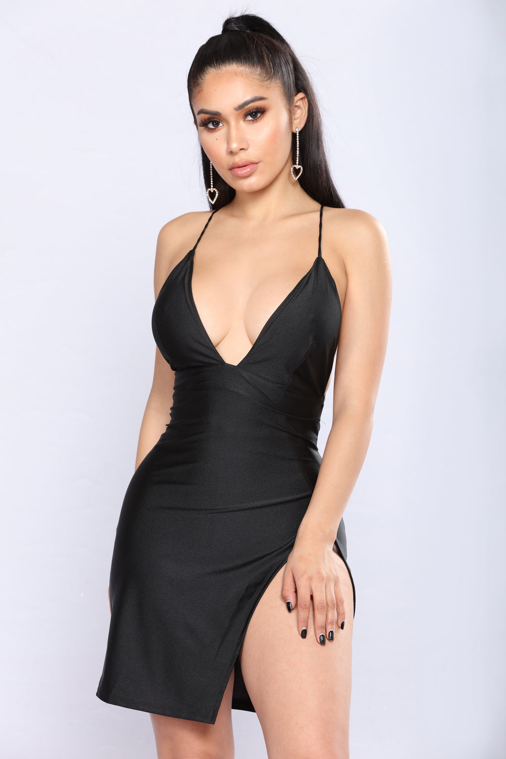 Can't Tell Me Nothing Dress - Black