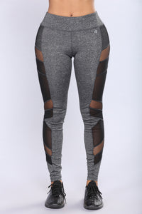 Martha Active Leggings - Charcoal