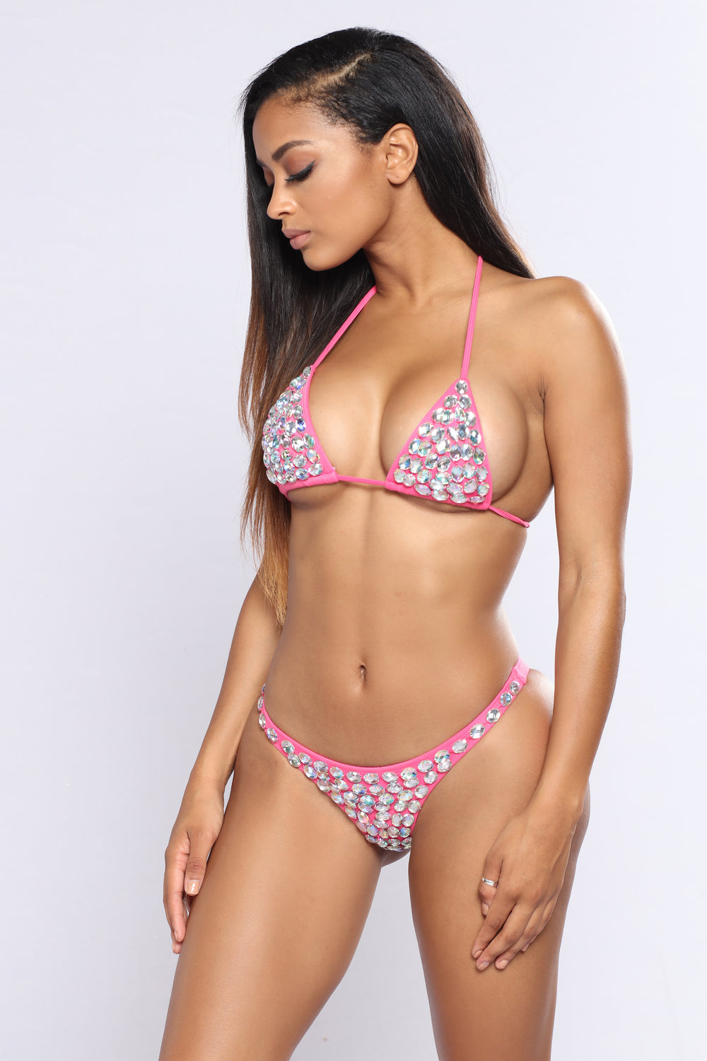 Diamond Influencer Bikini - Pink