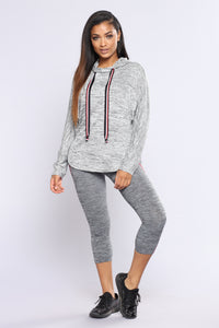 Hoodie Goodness Hooded Sweatshirt - Grey