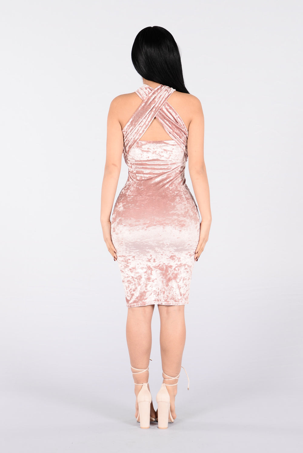 Eyes Wide Open Dress - Blush