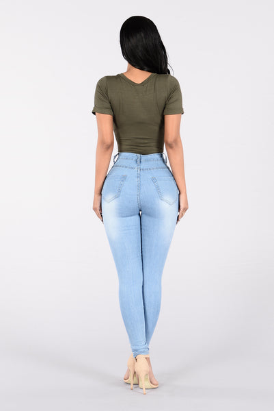 Crave It Jeans - Light Blue