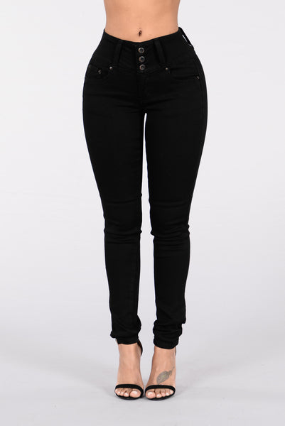 Flaunt It Jeans - Black