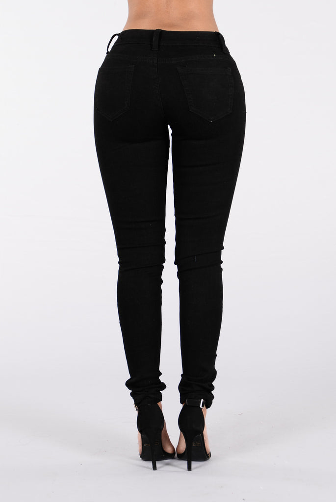 Mighty Fine Jeans - Black