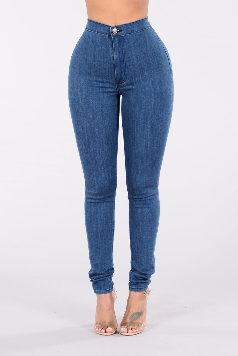 Easily My Fave Jeans - Med Blue