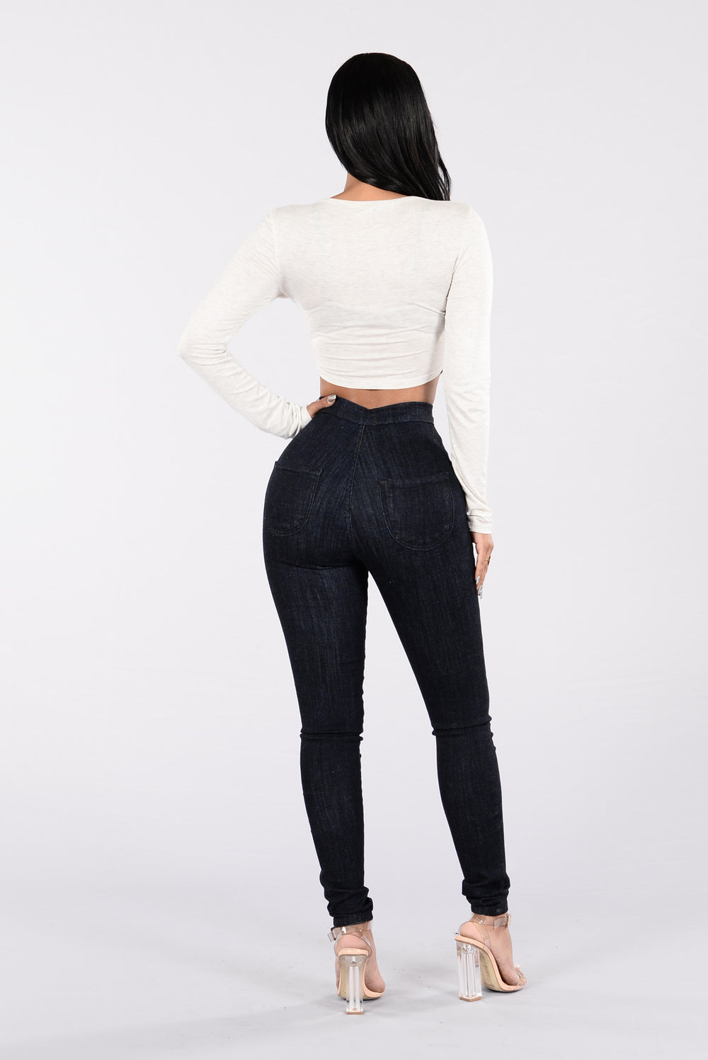 Easily My Fave Jeans - Dark Blue