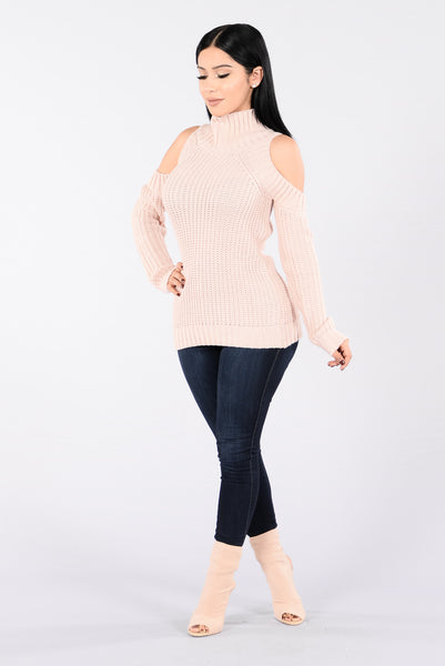 Warmer Days Sweater - Blush