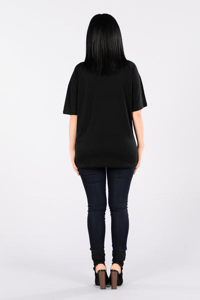 Hells Bells Top - Black