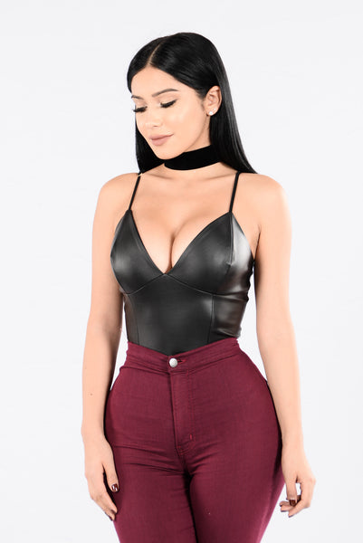 Party On Bodysuit - Black