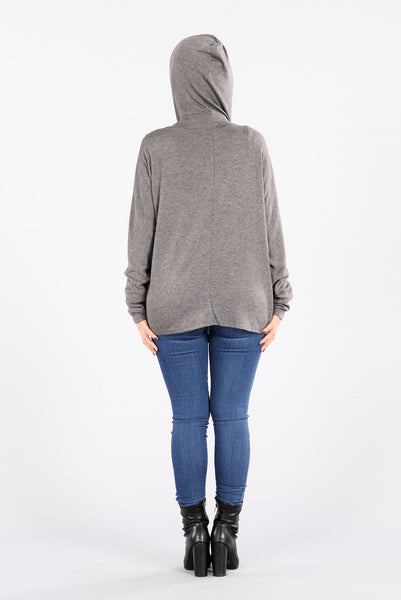 Kickback and Chill Sweater - Charcoal