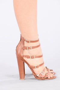 Too Busy Heel - Cognac