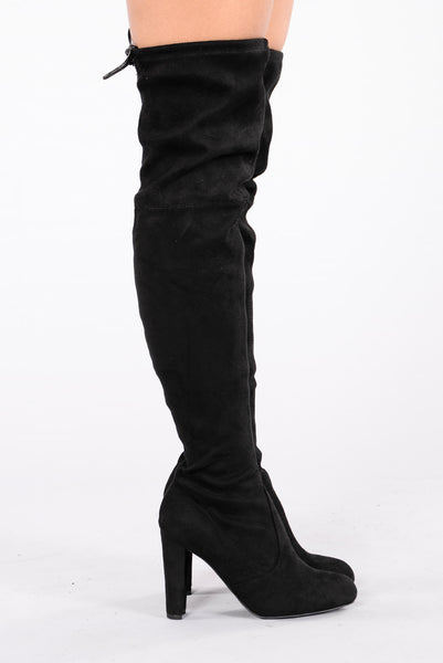 Go With The Flow Boot - Black