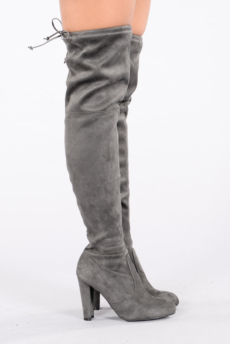 Go With The Flow Boot - Charcoal