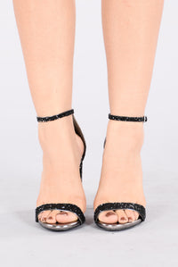 Stayin Alive Heel - Black