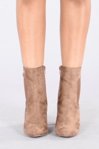 Nothin But A Friend Boot - Taupe