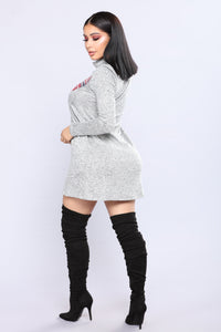 Reindeer Sweater - Heather Grey