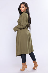 Midtown Jacket - Olive