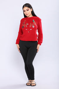 This Christmas Top - Red