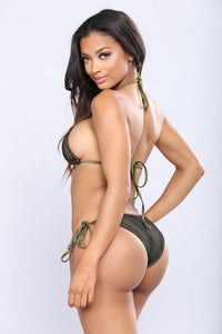 Catching Waves Bikini - Olive