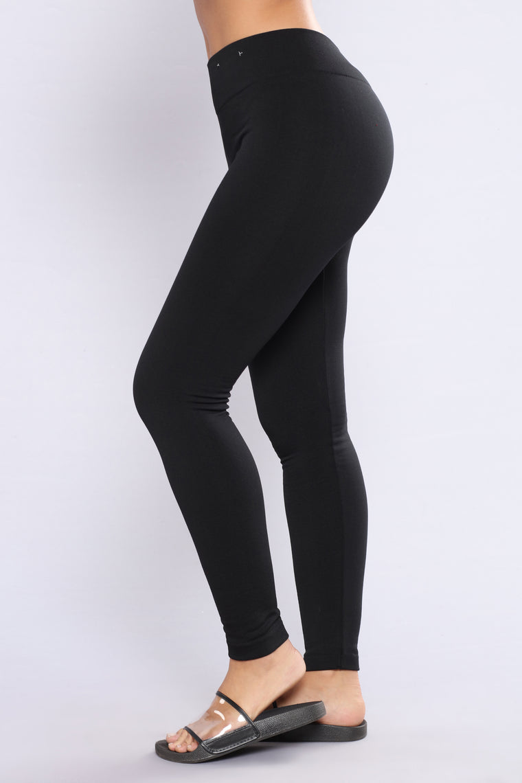 Yes Fleece III Leggings - Black