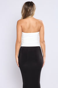 Overlay Today Top - Ivory