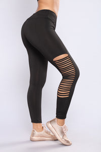 Daina Active Leggings - Black Angle 6