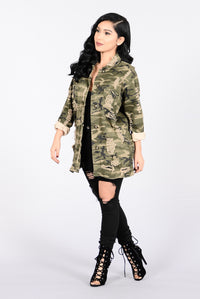 Straight From Combat Jacket - Camo Angle 8