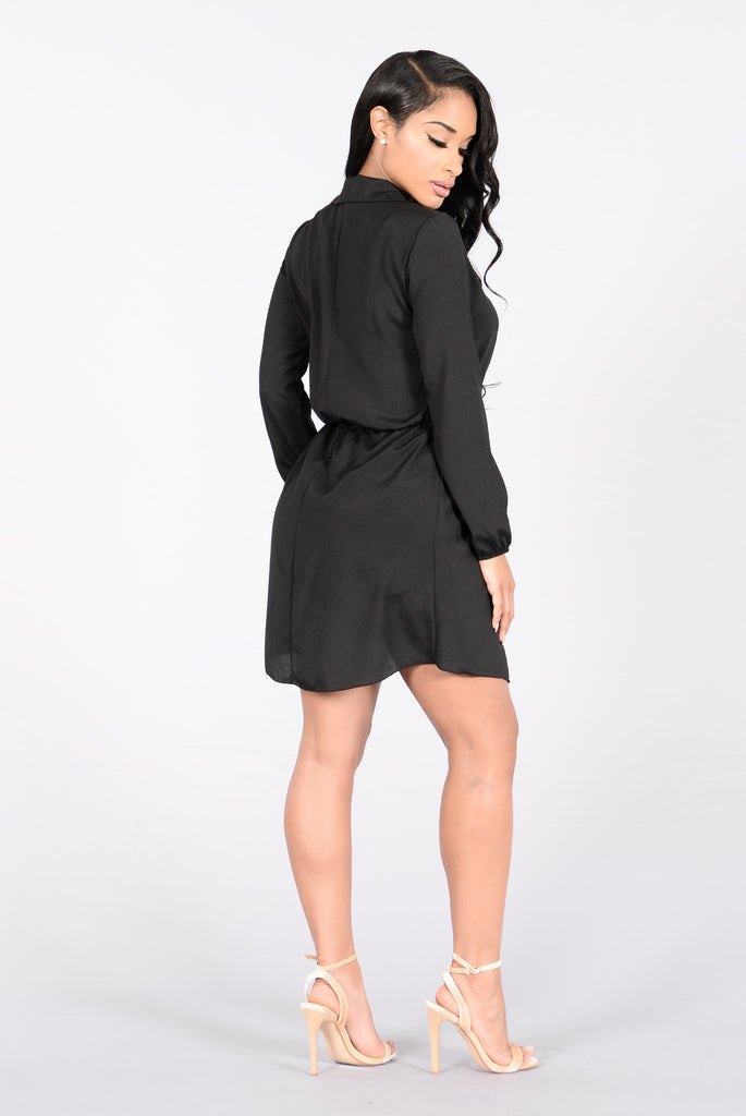 Got Things To Do Romper - Black