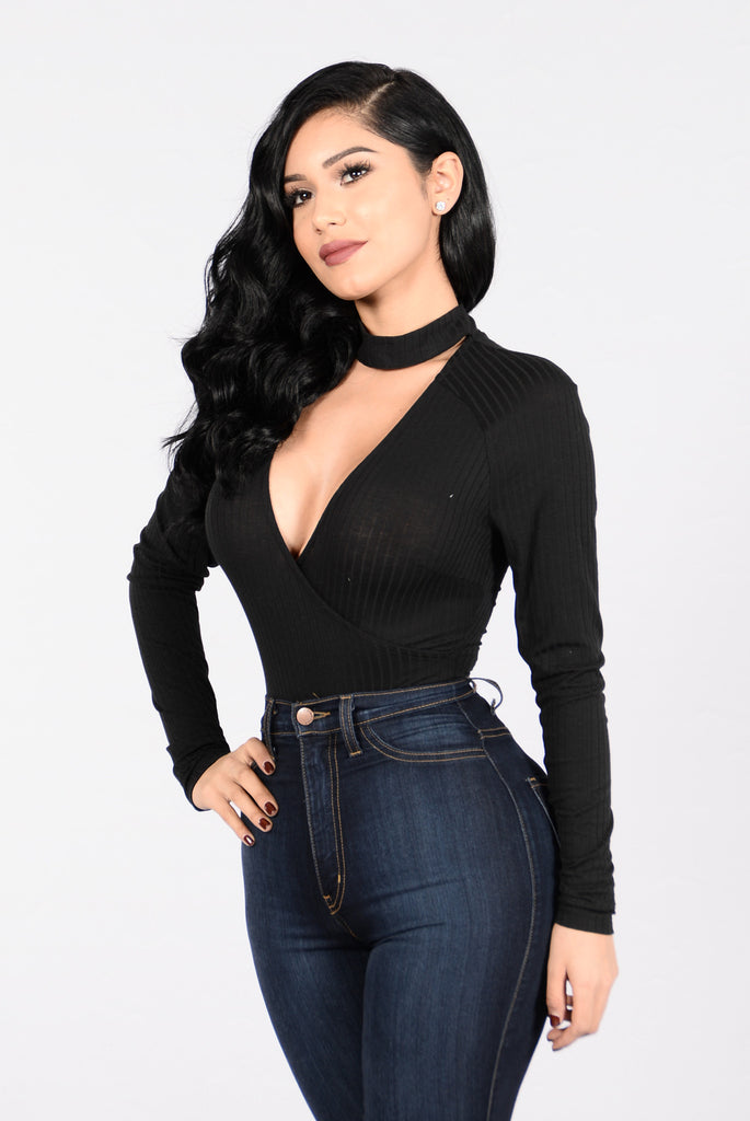 Superbad Bodysuit - Black