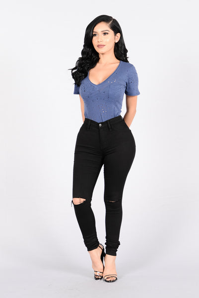 Dig It Bodysuit - Navy