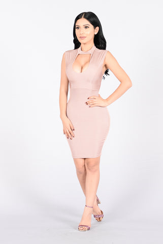 My Love Is Your Love Dress - Mauve