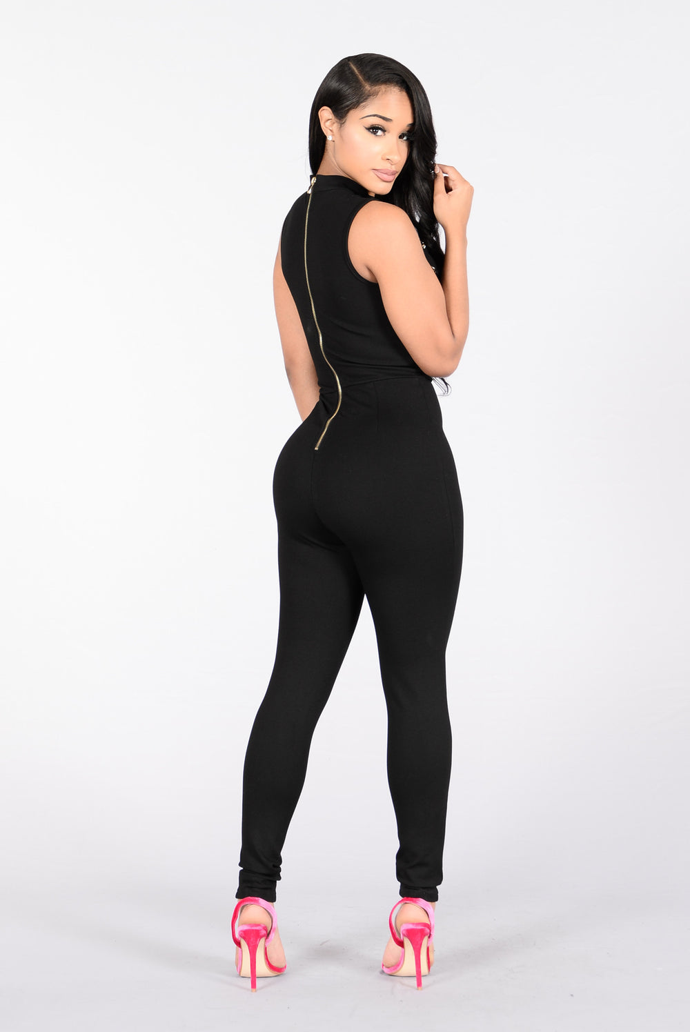 Sexy Secret Jumpsuit - Black
