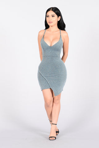 Party Fever Dress - Blue