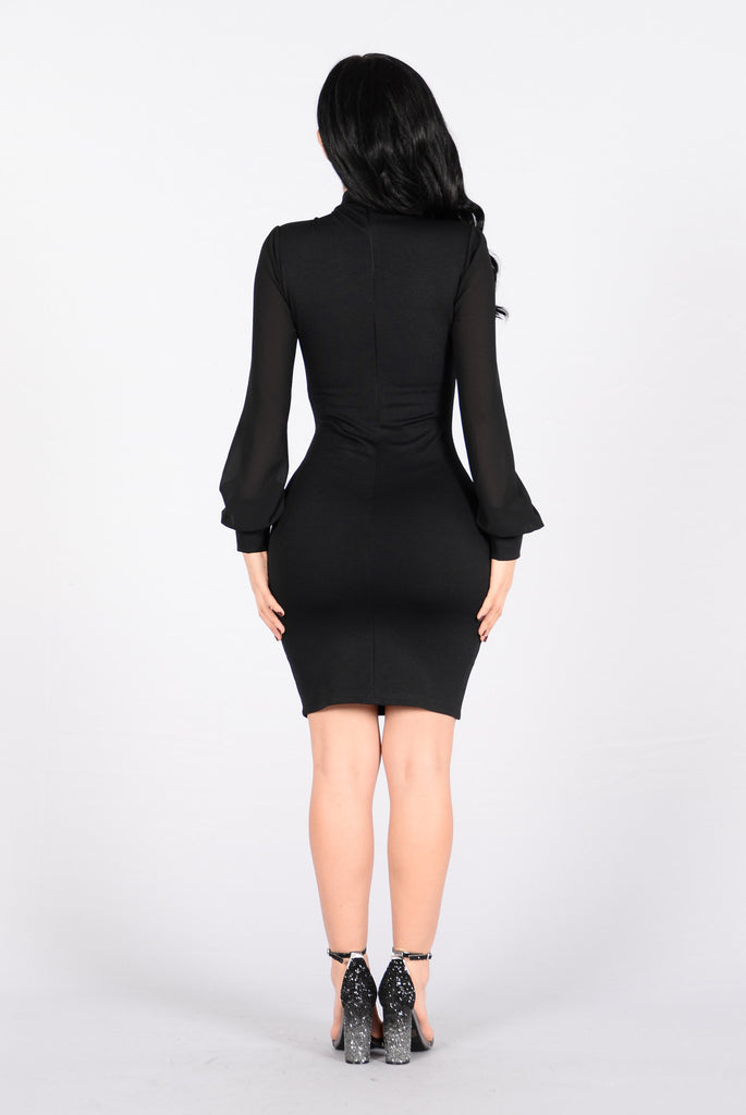 B Rocka Dress - Black