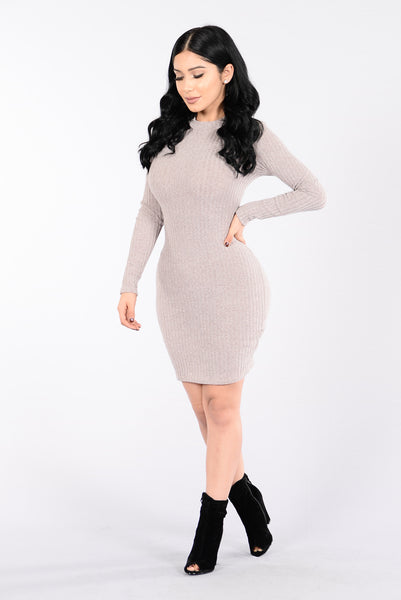 Love Myself Dress - Mocha
