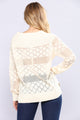 Diamonds Dancing Sweater - Ivory