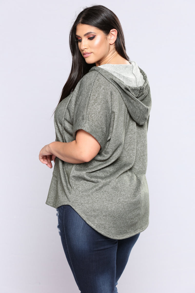 One Woman Army Hooded Sweatshirt - Olive