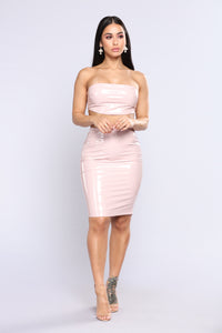 Kloey Latex Set - Powder Pink