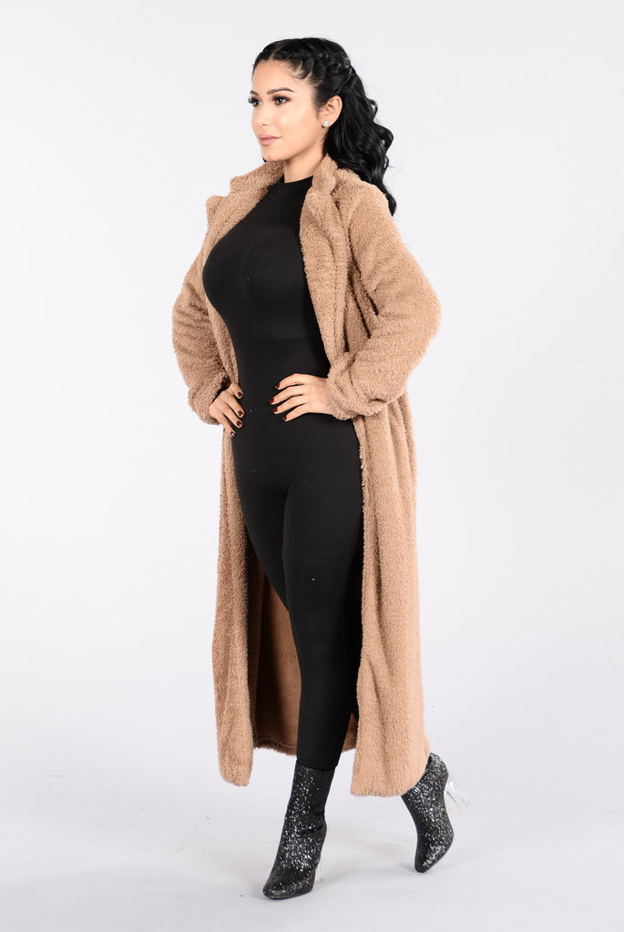 Softy At Heart Jacket - Mocha