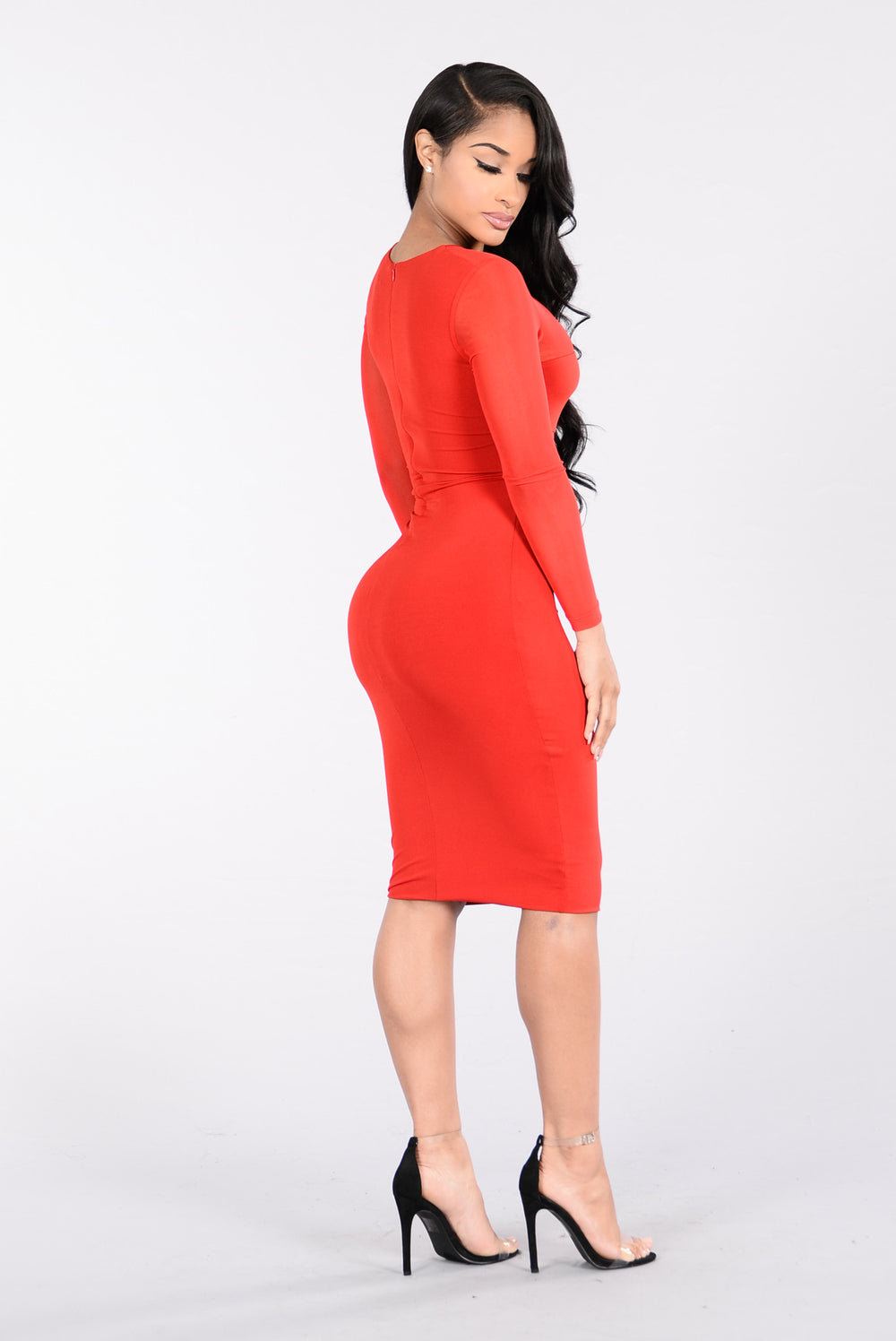 Instant Friend Dress - Red