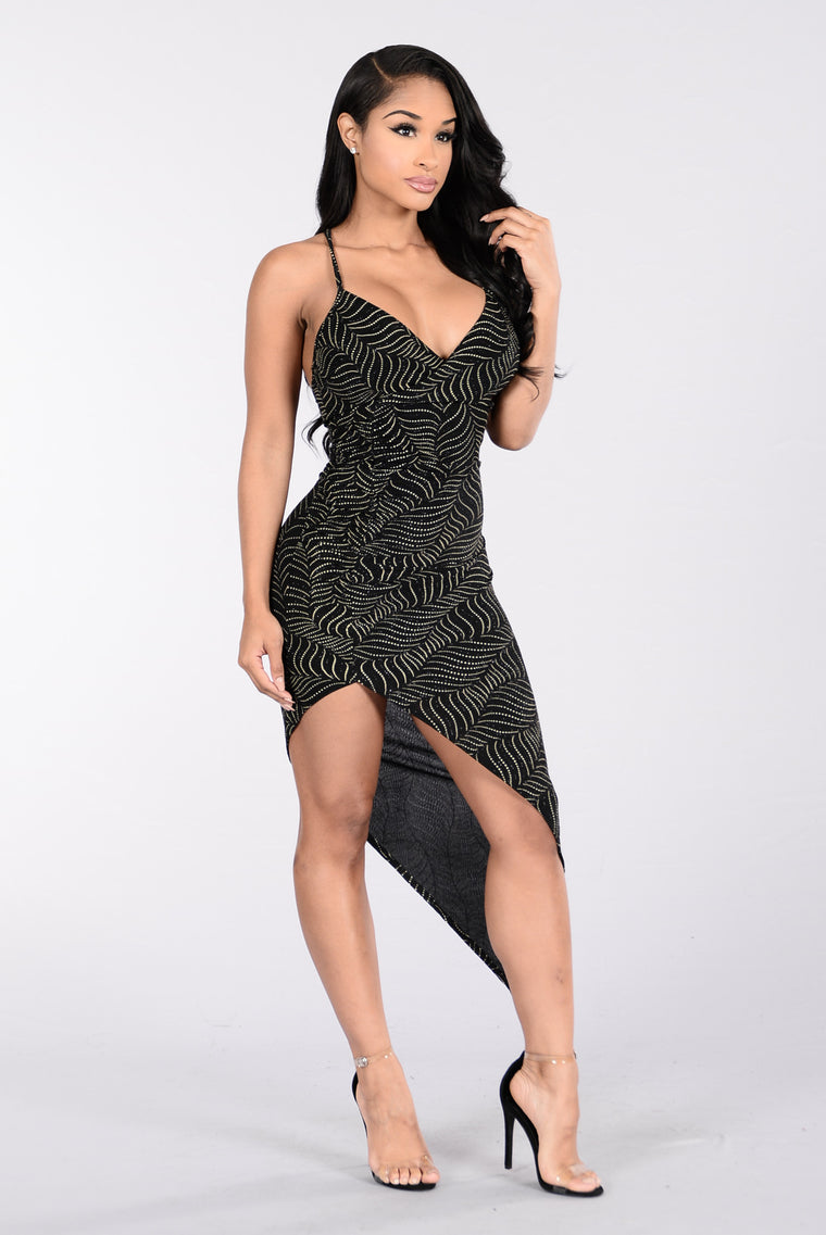 The Bling Bling Dress - Black