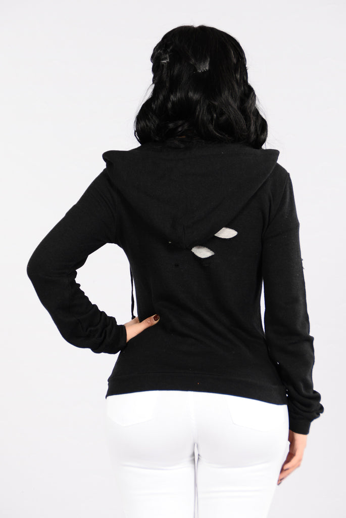 Too Chill Hoodie - Black