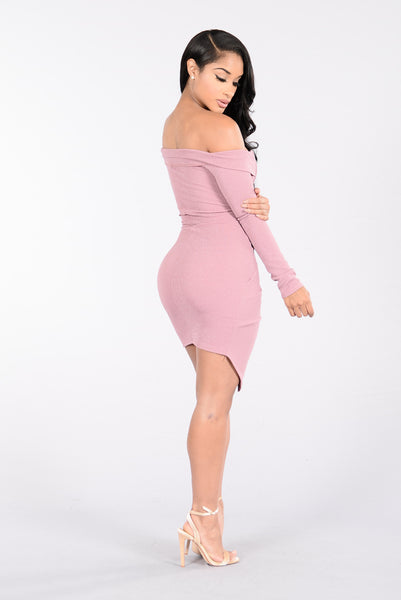 Cruise Control Dress - Mauve