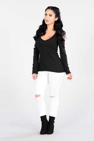 Super Boo Sweater - Black