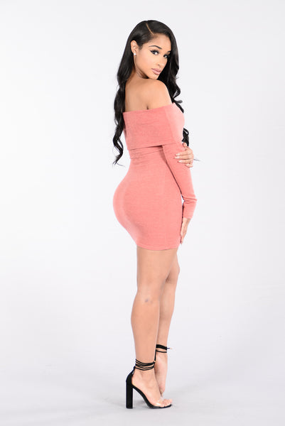 The Getaway Dress - Mauve