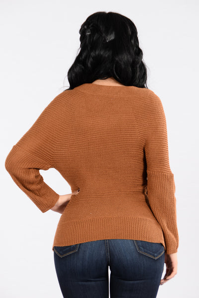 Get A Hold Of Me Sweater - Camel