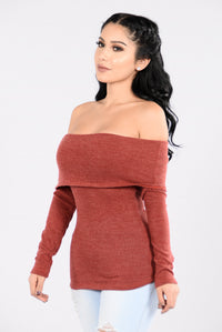 Stole The Show Top - Marsala