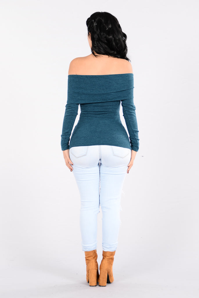 Stole The Show Top - Teal