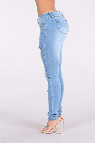 Light Of The Sun Jeans - Light Blue