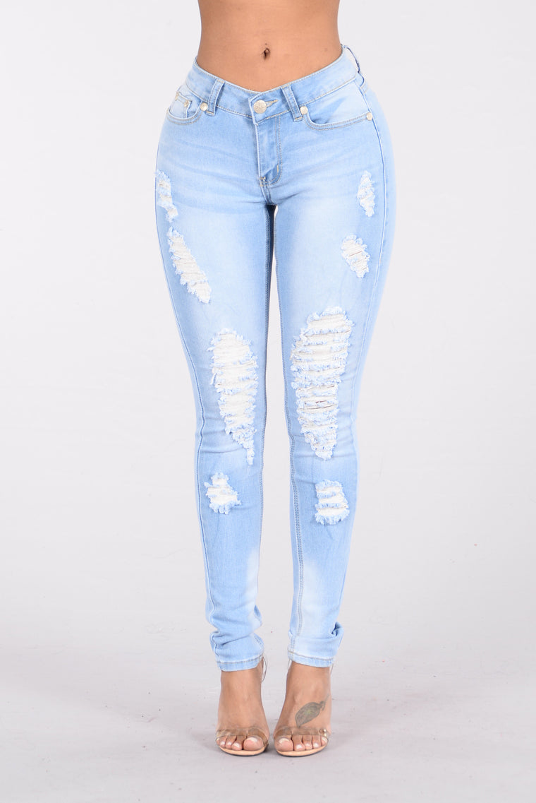 Ocean Avenue Jeans - Light Blue